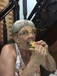 Mary eats Banh Mi